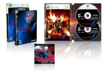 Capcom reveals mediocre Devil May Cry 4 special edition