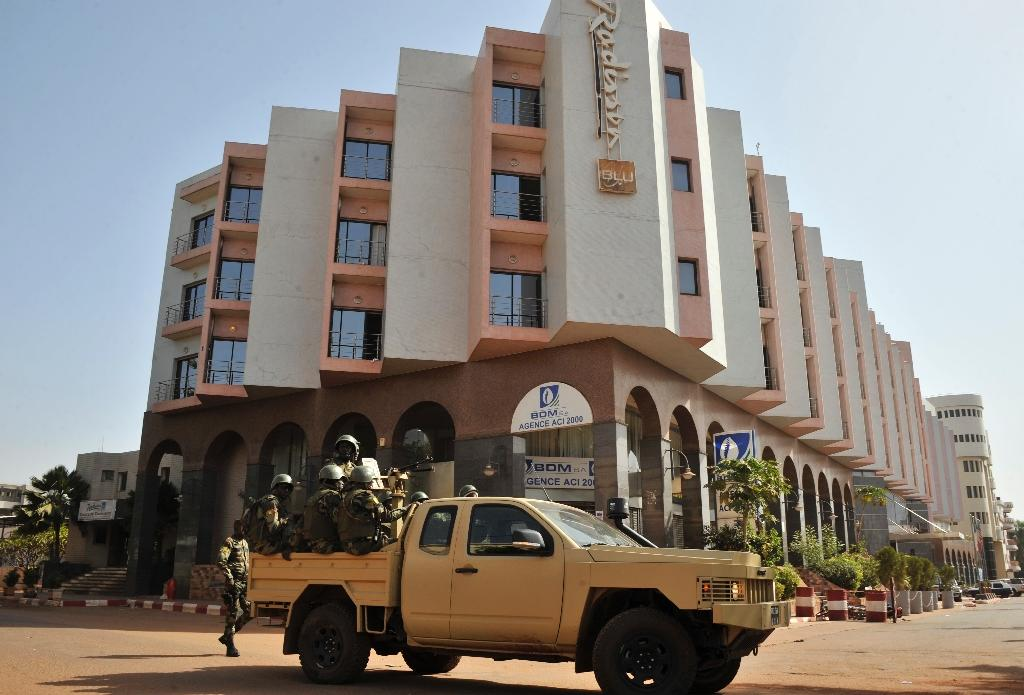 In November 2015, gunmen took guests and staff hostage at the luxury Radisson Blu hotel in Bamako in a siege that left at least 20 people dead, including 14 foreigners (AFP Photo/HABIBOU KOUYATE)