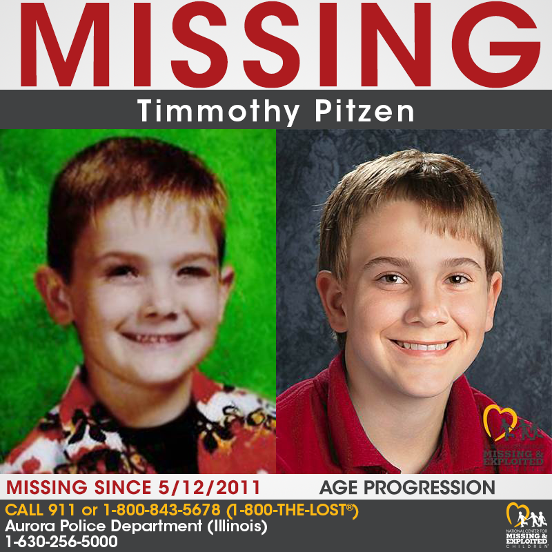 QnA VBage Timmothy Pitzen vanished in 2011. His mom wrote a note that said 'you will never find him'