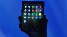 未來手機新型態?Samsung 可折疊屏幕概念手機登場