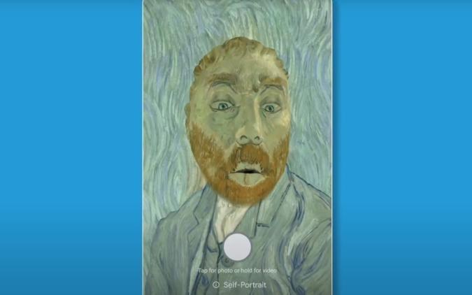 Google Arts & Culture Art Filter