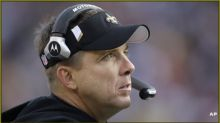 Coach Sean Payton says quarterback is not a 'must' for New Orleans Saints in upcoming draft