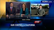 What do gun-control measures discussed in DC mean to Californians?