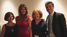 Melania Trump Loves Pink — and She Wore the Color Again to the President's D.C. Fundraiser