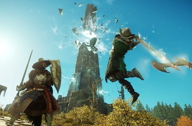 'New World' trailer shows off gameplay and story beats from Amazon's upcoming MMO
