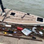 Hurricane Hanna shipwreck