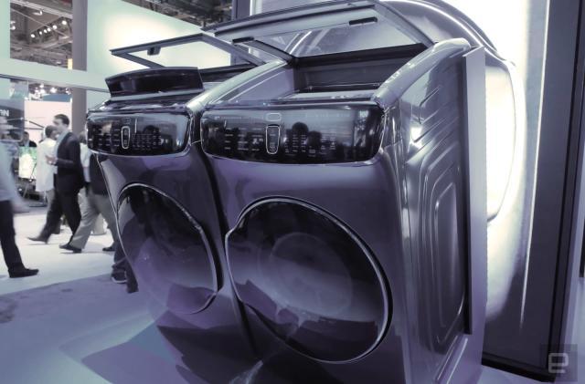Samsung's FlexWash and FlexDry machines are laundry 'Inception'