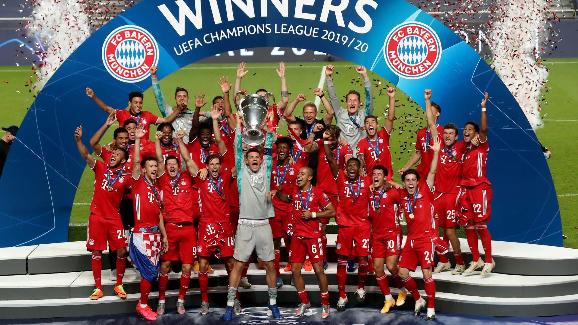 Watch Bayern Munich Trophy Lift After Uefa Champions League Win