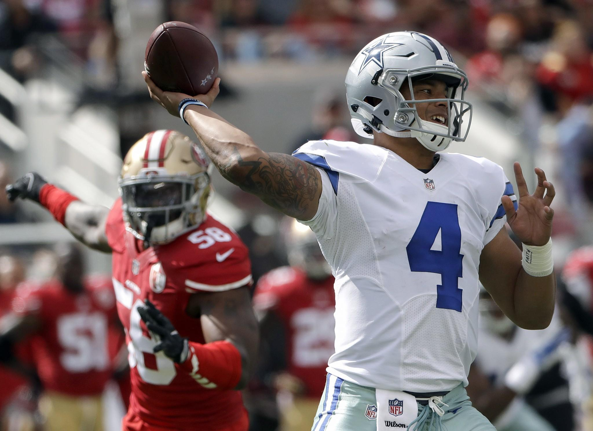 Dak Prescott is making the Cowboys  eventual QB decision tougher 756f658fd