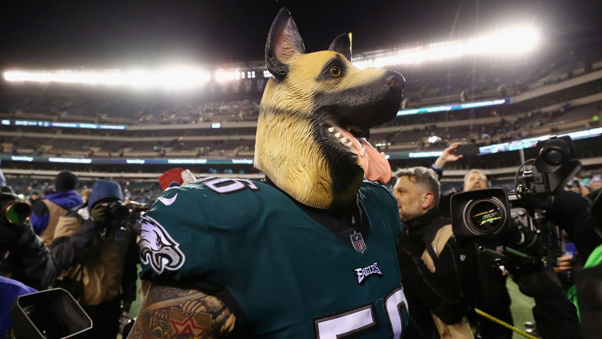 Mask wearing Eagles revel in underdog status