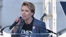 Scar-Jo calls out James Franco in Women's March speech