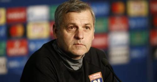 Foot - C3 - OL - Bruno Genesio (Lyon) : «Il n'y a pas de sentiment de peur»