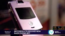 Motorola announces redesigned Razr