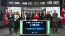 First Minister of Scotland Opens the Market