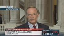 'We'll eventually do the right thing': Sen Carper