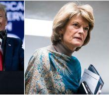 "Trump vows to travel to Alaska to campaign against ""disloyal"" Sen. Murkowski"