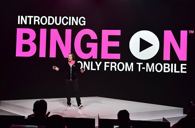 T-Mobile adds more channels to Binge-On