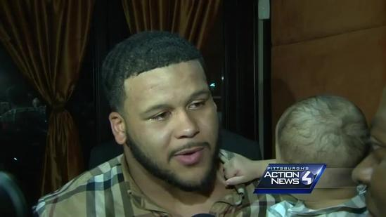 Pitt's Aaron Donald 'overwhelmed' by draft selection