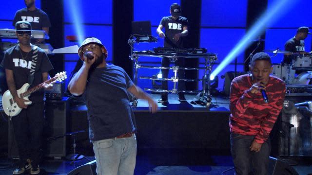 ScHoolboy Q & Kendrick Lamar Perform 'Collard Greens'