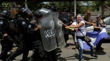 One dead in anti-Ortega march in Nicaragua