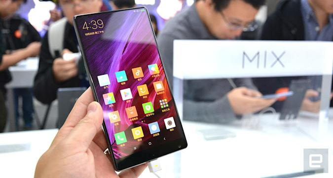 Xiaomi MI MIX: Randlos hoch drei