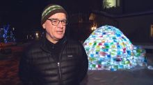 Milk carton ice house warms hearts, brings neighbours together, nets a bottle of good scotch