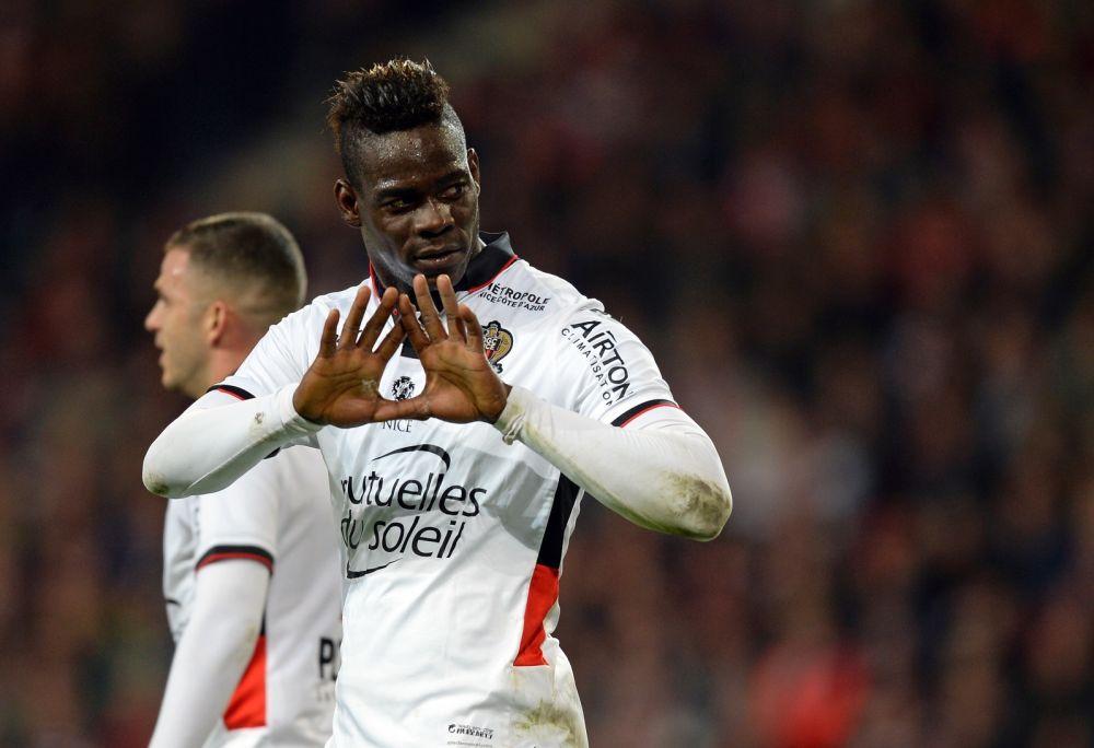 Lille-Nice, les tops et flops: Balotelli enfin buteur à l'extérieur, les Aiglons européens, Paris sous pression…