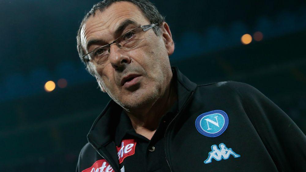 """Sarri si lega al Napoli: """"Clausola? Ho un lavoro da finire"""""""