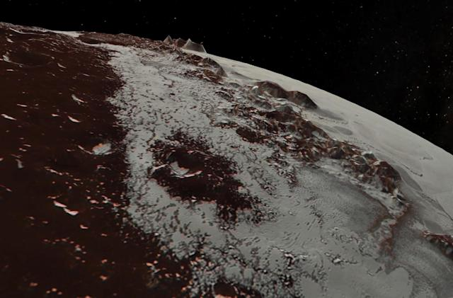 Fly over Pluto and Charon in the latest NASA footage