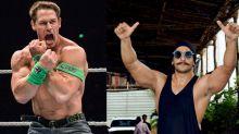 "John Cena labels Bollywood star Ranveer as ""Stone Cold Singh"""