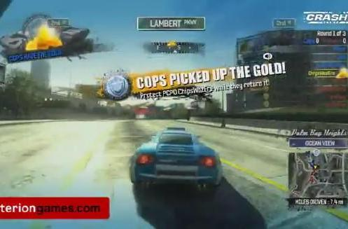 Criterion has too much fun playing Burnout Paradise: Cops and Robbers