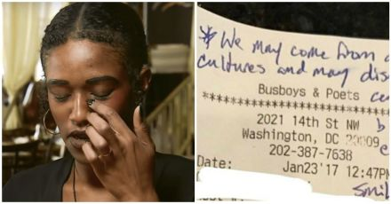 Waitress Stunned By Texans' Note Left On The Check