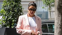 Priyanka Chopra wears stunning pastel pink saree at Sophie Turner and Joe Jonas' second wedding