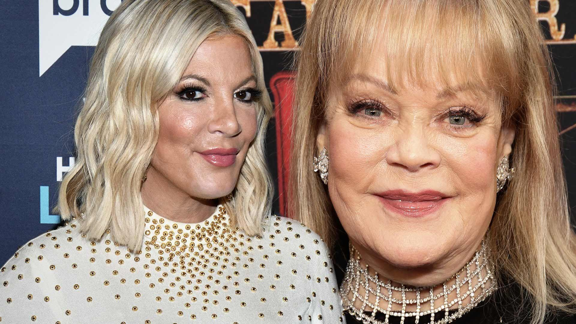90210' Star Tori Spelling No Longer Feuding With Mom Candy Spelling