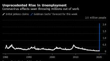 U.S. Jobless Claims Could Exceed 2 Million, Goldman Says