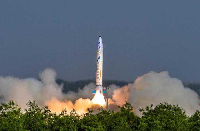 China marks a key private rocket launch