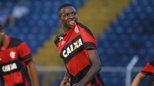 Copa do Brasil Sub-20: Com gol de Vinícius Júnior, Flamengo vence o Figueirense