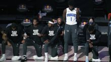 Magic forward Jonathan Isaac only player to stand, not wear Black Lives Matter shirt during national anthem