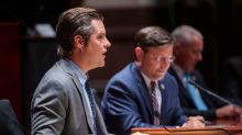 Matt Gaetz, who is under FBI investigation, questions FBI director about Covid conspiracies