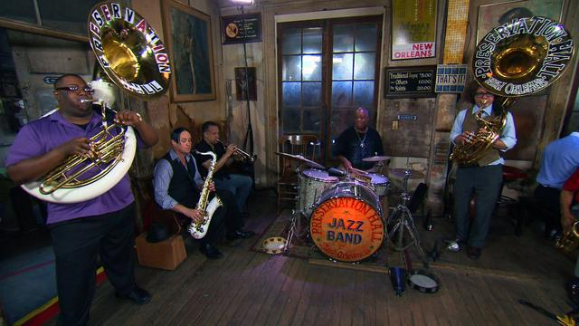 Preservation Hall Jazz Band performs