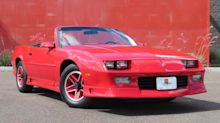 Get Your Hands On This Red Hot 1991 Chevrolet Camaro RS Vert