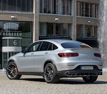 Photos of the 2020 Mercedes-AMG GLC63 S Coupe
