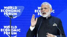 Indian Prime Minister Slams Protectionism in Davos Speech After President Trump Raises Tariffs