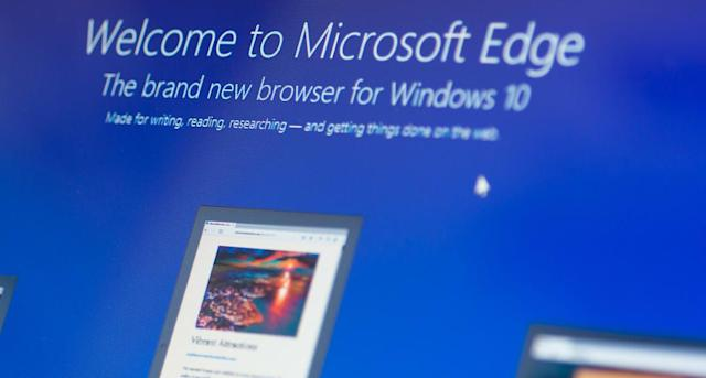Extensions for Microsoft's Edge browser aren't coming until 2016