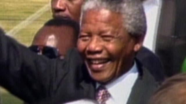 All That Mattered: S. Africa's first black president