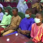 Nigeria boys freed, police search for 317 missing girls
