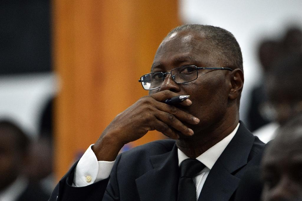 Haitian lawmakers have elected Jocelerme Privert (pictured) as the country's interim president (AFP Photo/Hector Retamal)