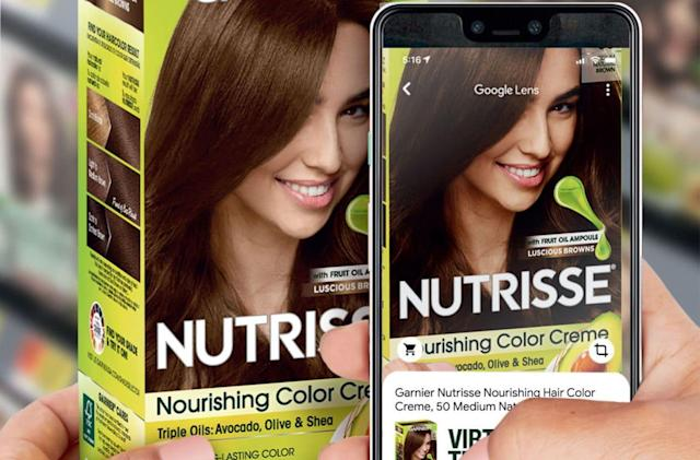Google Lens now lets you virtually dye your hair