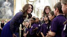 Duchess of Cambridge praises pioneering children's mental health charity at gala dinner