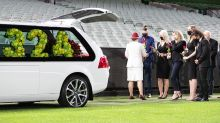 Devastating scenes as Dean Jones farewelled at MCG